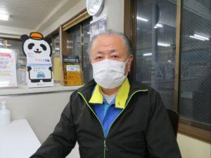 ボディショップ早川ではマスク着用を徹底しています