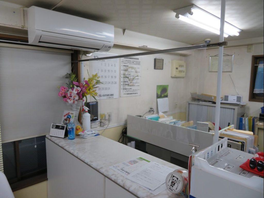 ボディショップ早川ではパーティション設置を行っております