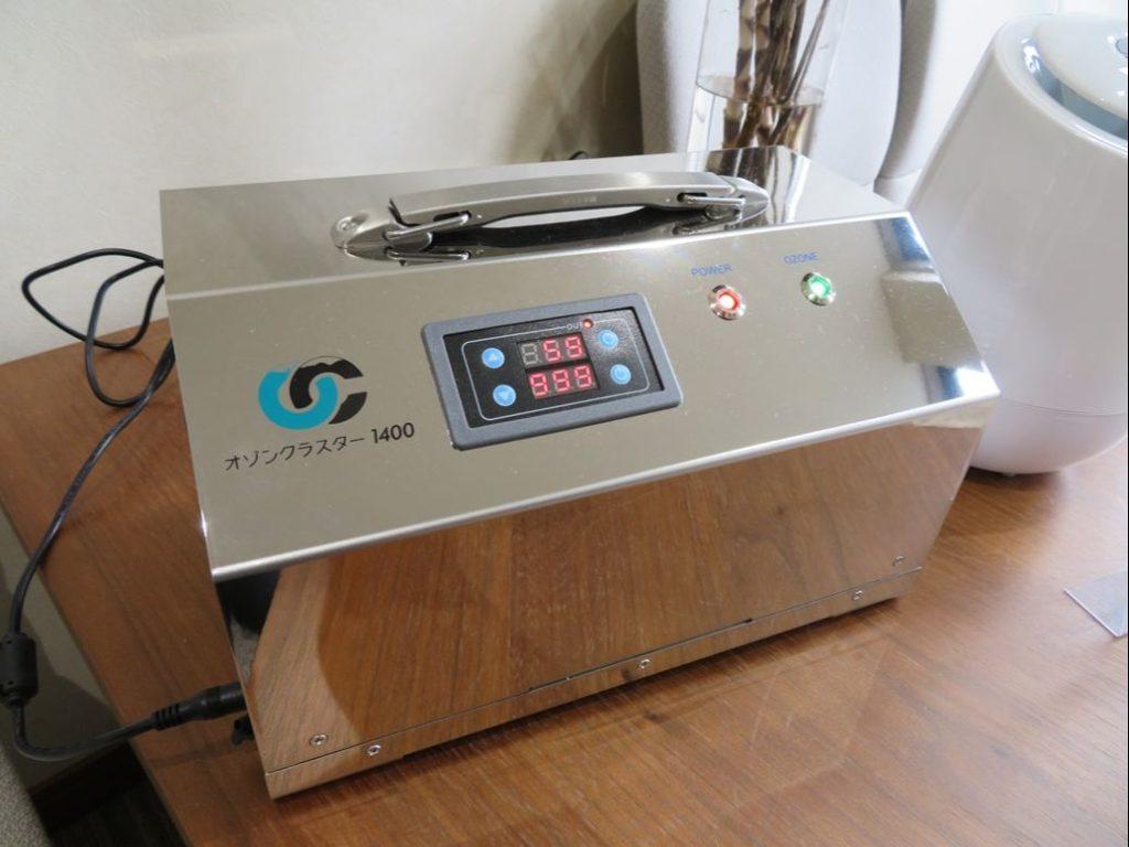 喜久田斎場ではオゾン発生器を設置しています