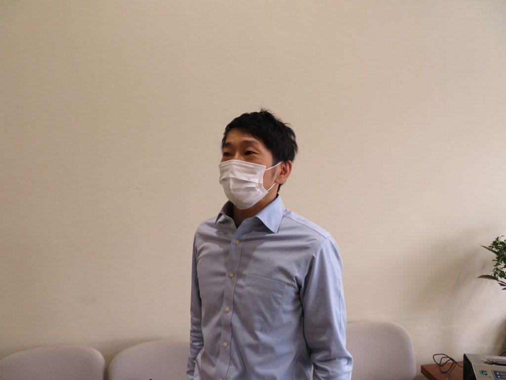 喜久田斎場ではマスク着用を徹底しています