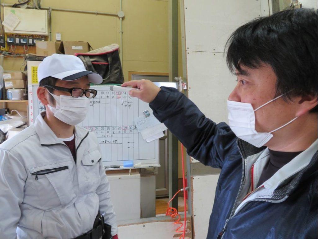 矢吹木工建設では従業員の体調管理を重視して行っております